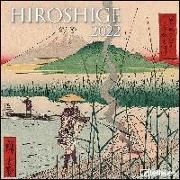 Hiroshige 2022 - Wand-Kalender - Broschüren-Kalender - 30x30 - 30x60 geöffnet - Kunst-Kalender von Hiroshige, Utagawa