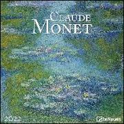 Claude Monet 2022 - Wand-Kalender - Broschüren-Kalender - 30x30 - 30x60 geöffnet - Kunst-Kalender von Monet, Claude