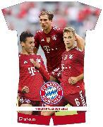 FC Bayern München 2022 - Trikotkalender - Wand-Kalender - Fan-Kalender - Fußball-Kalender - 34,1x42 - Sport von teNeues Calendars
