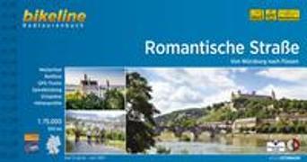Romantische Strasse. 1:75'000 von Esterbauer Verlag (Hrsg.)