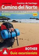 Cover-Bild zu Camino de Santiago - Camino del Norte (Rother Guía excursionista) von Rabe, Cordula