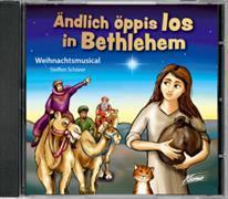 Cover-Bild zu Ändlich öppis los in Bethlehem - Musical von Schürer, Steffen