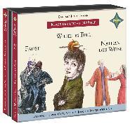 Cover-Bild zu Kindermann, Barbara: Weltliteratur für Kinder: 3-er Box Deutsche Klassik: Faust, Wilhelm Tell, Nathan der Weise
