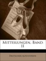 Cover-Bild zu Mitteilungen, Band II