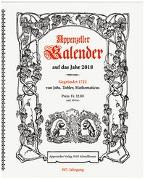 Appenzeller Kalender 2018 von König, Christine