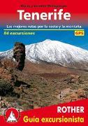 Tenerife (Rother Guía excursionista) von Wolfsperger, Klaus