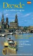 Stadtführer Dresden - die Sächsische Residenz - spanische Ausgabe von Kootz, Wolfgang