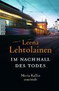 Cover-Bild zu Im Nachhall des Todes von Lehtolainen, Leena