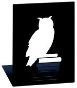 Buchstützen Leseeule
