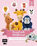 Cover-Bild zu Tierisch süße Häkelfreunde 10