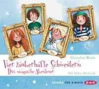 Cover-Bild zu Vier zauberhafte Schwestern - Drei magische Abenteuer von Winn, Sheridan