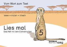 Cover-Bild zu Lies mal 5 - Das Heft mit dem Erdmännchen von Wachendorf, Peter