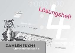 Cover-Bild zu Zahlenfuchs 4 (Lösungsheft) von Auras, Thomas