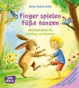 Cover-Bild zu Finger spielen, Füße tanzen von Ruhe, Anna Thekla