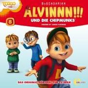 Cover-Bild zu Alvinnn!!! und die Chipmunks 08. Superhelden von Alvinnn!!! Und Die Chipmunks