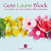 Gute Laune Block Blumenband