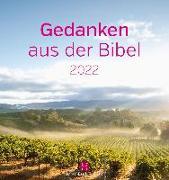 Gedanken aus der Bibel 2022 Postkartenkalender