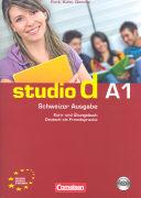 Cover-Bild zu Studio d A1. Schweizer Ausgabe. Kurs- und Übungsbuch von Funk, Hermann