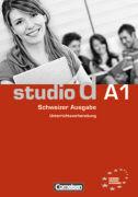 Cover-Bild zu studio d A1. Schweizer Ausgabe. Unterrichtsvorbereitung von Bettermann, Christel