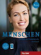 Cover-Bild zu Menschen A2/2. Kursbuch mit DVD-ROM von Habersack, Charlotte