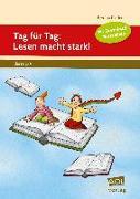 Cover-Bild zu Tag für Tag: Lesen macht stark! von Rinderle, Bettina