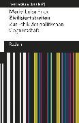 Cover-Bild zu Frick, Marie-Luisa: Zivilisiert streiten (eBook)