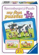 Ravensburger Kinderpuzzle - 06571 Gute Tierfreunde - my first puzzle mit 3x6 Teilen - Puzzle für Kinder ab 2,5 Jahren