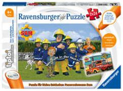 Ravensburger tiptoi 00046 Puzzle für kleine Entdecker: Feuerwehrmann Sam - 2x24 Teile Puzzle von Ravensburger ab 4 Jahren