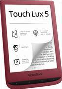 Pocketbook Touch Lux 5 rubinrot