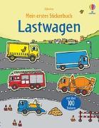 Cover-Bild zu Taplin, Sam: Mein erstes Stickerbuch: Lastwagen