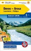 Cover-Bild zu Hallwag Kümmerly+Frey AG (Hrsg.): Davos - Arosa - Lenzerheide-Prättigau Nr. 13 Wanderkarte 1:60 000. 1:60'000