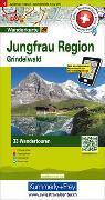 Cover-Bild zu Hallwag Kümmerly+Frey AG (Hrsg.): Jungfrau Region Grindelwald Nr. 04 Touren-Wanderkarte 1:50 000. 1:50'000