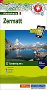 Cover-Bild zu Hallwag Kümmerly+Frey AG (Hrsg.): Zermatt Touren-Wanderkarte Nr. 13. 1:50'000