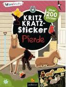 Cover-Bild zu Schindler, Eva (Gestaltet): Kritzkratz-Sticker Pferde