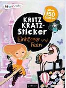 Cover-Bild zu Schindler, Eva (Gestaltet): Kritzkratz-Sticker Einhörner und Feen