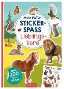 Cover-Bild zu Schindler, Eva (Gestaltet): Mein Foto-Stickerspaß - Lieblingstiere