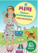 Cover-Bild zu Schindler, Eva (Gestaltet): Mini-Sticker-Anziehpuppen Freundinnen
