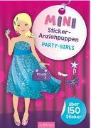 Cover-Bild zu Schindler, Eva (Gestaltet): Mini-Sticker-Anziehpuppen Party-Girls