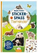 Cover-Bild zu Schindler, Eva (Gestaltet): Mein Foto-Stickerspaß - Tierkinder