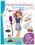 Cover-Bild zu Schindler, Eva (Gestaltet): Sticker-Anziehpuppen - Kostümfest