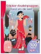 Cover-Bild zu Schindler, Eva (Gestaltet): Sticker-Anziehpuppen - Rund um die Welt