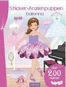 Cover-Bild zu Schindler, Eva (Gestaltet): Sticker-Anziehpuppen Ballerina
