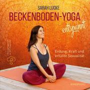 Cover-Bild zu Beckenboden-Yoga entspannt von Lucke, Sarah