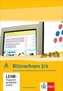 Blitzrechnen 3./4. Schuljahr. Rechnen bis 100 / Rechnen bis 1 Million. CD-ROM. EL - Blitzrechnen von Wittmann, Erich Ch.