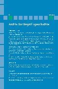 Cover-Bild zu Bermes, Christian (Hrsg.): Archiv für Begriffsgeschichte / Archiv für Begriffsgeschichte. Band 48 (eBook)