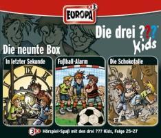 Cover-Bild zu Pfeiffer, Boris: Die drei ??? Kids 3er Box 09. Folge 25-27