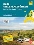 ADAC Stellplatzführer 2022 Deutschland und Europa