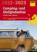 ADAC Camping- und StellplatzAtlas2022/23 Deutschland 1:300 000, Europa 1:800 000. 1:200'000
