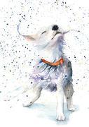 Postkarten Hund von ZintenZ (Prod.)