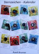 Cover-Bild zu Sternzeichen - Kalender von Brunner, Ruedi